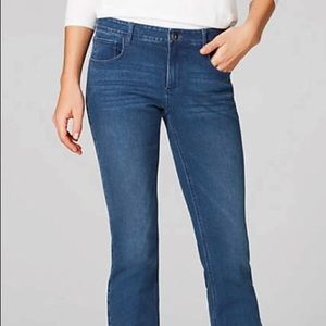 J Jill Authentic Fit Bootcut Jeans